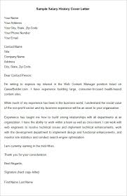 awesome salary history in cover letter 36 with additional simple