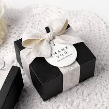 cookie box favors 5 x gift boxes black mini box size 1 modern boxes