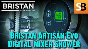 how to install a bristan artisan evo digital shower youtube