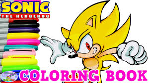 sonic the hedgehog coloring page sonic the hedgehog coloring book super sonic episode surprise egg