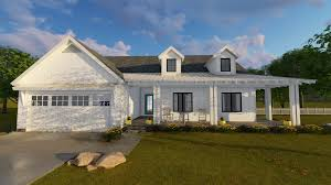Contemporary Farmhouse Floor Plans Architectural Designs Modern Farmhouse Nice Home Zone