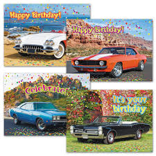 classic cars birthday cards current catalog