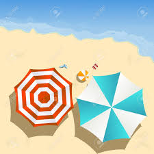 22 845 beach umbrella stock vector illustration and royalty free