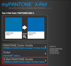 Pantone Color Blue Pantone Cross Reference Guide F U0026m Expressions Knowledge Base