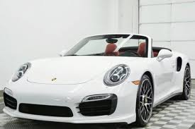 2014 porsche 911 turbo s cabriolet porsche 911 turbo s cabriolet in ohio for sale used cars on
