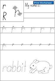 letter r handwriting sheet english skills online interactive