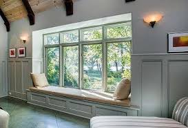 built in window seat traditional living room with built in window seat wall sconce in
