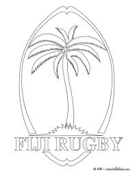 fiji rugby team coloring pages hellokids com