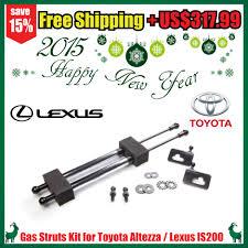 toyota lexus altezza is200 gas struts kit for toyota altezza lexus is200 xe10 98 05