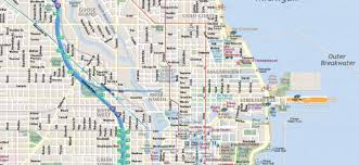 Seattle Downtown Attractions Map by Map Of Chicago Interactive And Printable Maps Wheretraveler