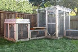 Fox Proof Rabbit Hutches The Garden Run Enclosure Plans Thegardencoop Com