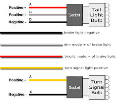 light wiring diagram with relay moreover led tail light wiring