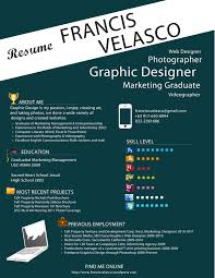 cool resume builder resume graphic resume image of graphic resume large size