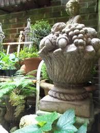 Cement Garden Decor Cement Garden Decor By Unpotpourri See Our Etsy Shop Www Etsy