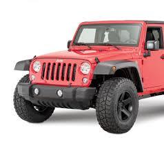 wrangler jeep 2 door mopar 77072341ab high top fender flares for 07 17 jeep wrangler