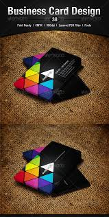 business card design 38 by enfusionthemes graphicriver