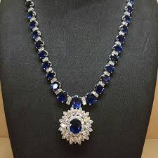 sapphire jewelry necklace images 367 best sapphire necklaces images diamond jpg