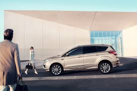 upscale new ford kuga vignale and ford edge vignale meet growing