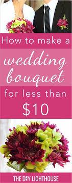 how to make wedding bouquet best 25 diy wedding bouquet ideas on diy wedding