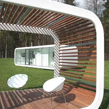 Modern Patio Design Architecture Gorgeous Mobile Home Design With Small Modern Patio