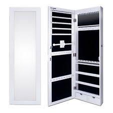 Wall Mirror Jewelry Storage Mirror Jewellery Storage Jewellery Cabinets Ebay