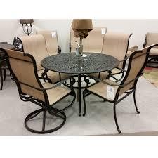 dining room sets dallas tx hanamint valbonne sling 5 piece dining set outdoor furniture