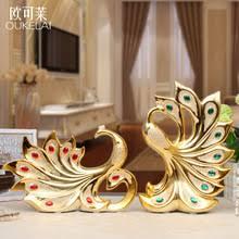 popular ornaments ceramic peacock buy cheap ornaments ceramic