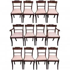 Antique Regency Dining Chairs Set Of 12 Antique Regency Dining Chairs Circa 1820 At 1stdibs