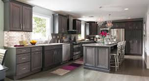 grey wood kitchen cabinets remodeling a kitchen success stories masterbrand