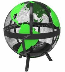 Fire Pit Globe by Globe Fire Pit