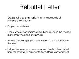 Appraisal Rebuttal Letter rebuttal letter sle rebuttal letter gomar rebuttal letter exle