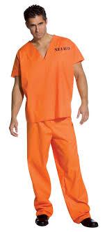 prison jumpsuit costume orange jumpsuit costume clothing