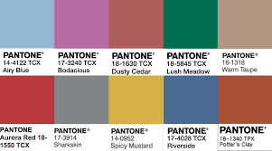 Pantone Color Blue Pantone Colors Review Fall U002716