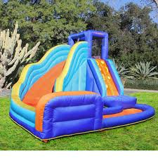 inflatable water slide kids pool outdoor fun yard bounce house
