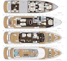 luxury yacht floor plans kando decks plan v2 ava yachts