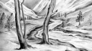 simple nature drawings in pencil pencil drawings of nature related