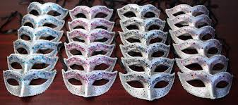 masquerade masks in bulk 24 party pack