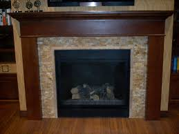 stacked stone fireplace surround home fireplaces firepits