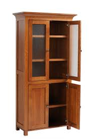 Oak Bookcases With Glass Doors Ameriwood Home Moberly Bookcase With Doors Black Oak