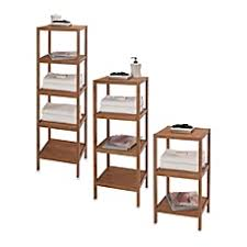 bathroom shelf idea creative bath ecostyles shelf bamboo tower bed bath beyond