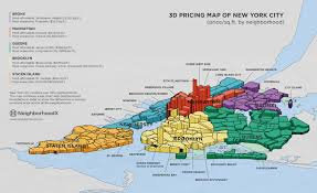 New York City Zip Code Map by New York City 3d Map New York Map