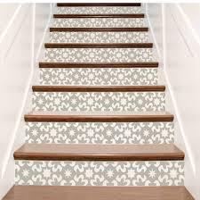 amazing stair riser decor 4 vinyl stair riser decals amazing stair riser decor 4 vinyl stair riser decals u0027carnivaleu0027 style staircase stairwell wall