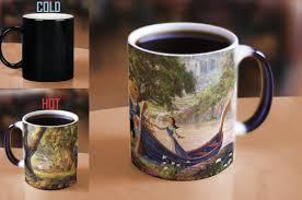 Beauty And The Beast Le Creuset Morphing Mugs Beauty And The Beast Series Ii Heat Sensitive Coffee