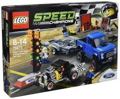 Ford Raptor Model Truck - amazon com lego speed champions ford f 150 raptor u0026 model a