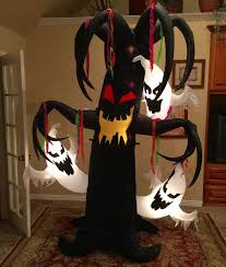 image gemmy prototype halloween tree with ghosts inflatable