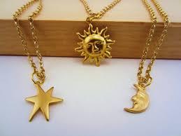 gold friend necklace images 3 best friend necklace sun moon stars best friend set gold jpg