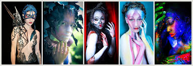 professional makeup schools painting classes