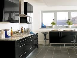 black gloss kitchen ideas black high gloss lacquer kitchen design ipc431 high gloss