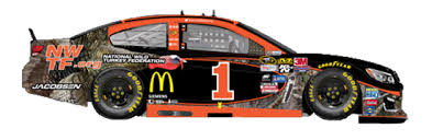 the no 1 chip ganassi racing chevy to feature special bass pro