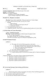 theme question definition banghay aralin sa araling panlipunan 8